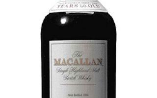 Самый дорогой виски в истории