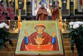 Молитва иконе «Неупиваемая чаша» от пьянства и алкоголизма