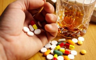 Препараты, несовместимые с алкоголем, вызывающие смерть