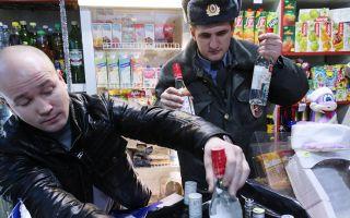 В России за 9 месяцев изъято 52 млн бутылок нелегального алкоголя