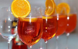 Апероль Шприц: рецепты, состав и вариации коктейля