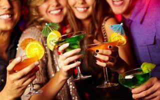 Калорийность алкоголя: сколько калорий в спиртных напитках