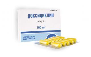 Доксициклин и алкоголь: можно ли употреблять одновременно