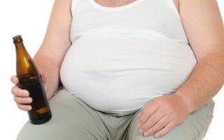 Как убрать пивной живот у мужчин и женщин