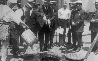 Сухой закон: страны с антиалкогольным законом