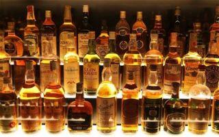 Список алкогольных напитков по градусам: крепость спиртных напитков