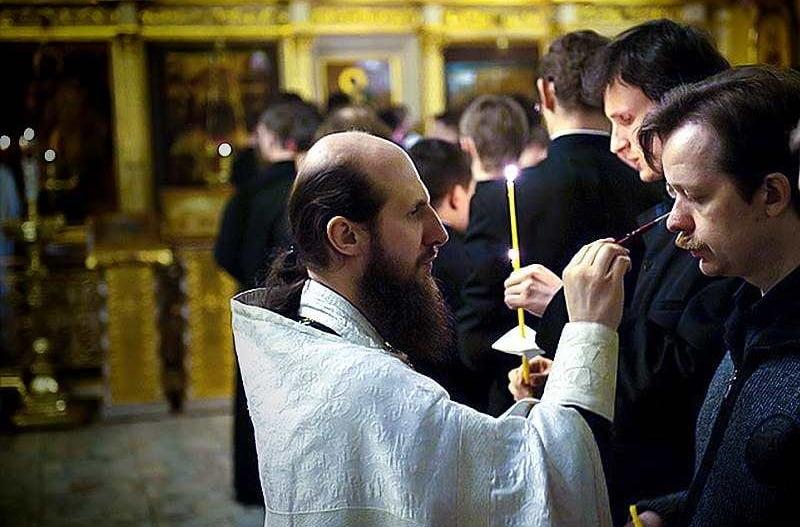 Помазание после молебена перед Неупиваемой чашей