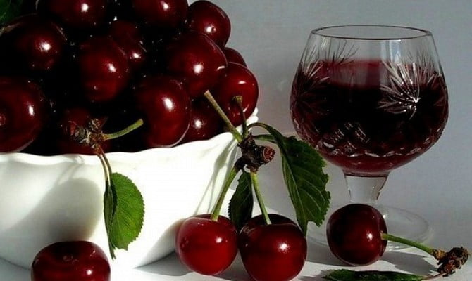 Сухое вино из вишни рецепт