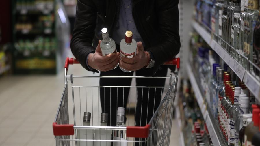 Минздрав не поддержал идею размещения устрашающих картинок на бутылках с алкоголем