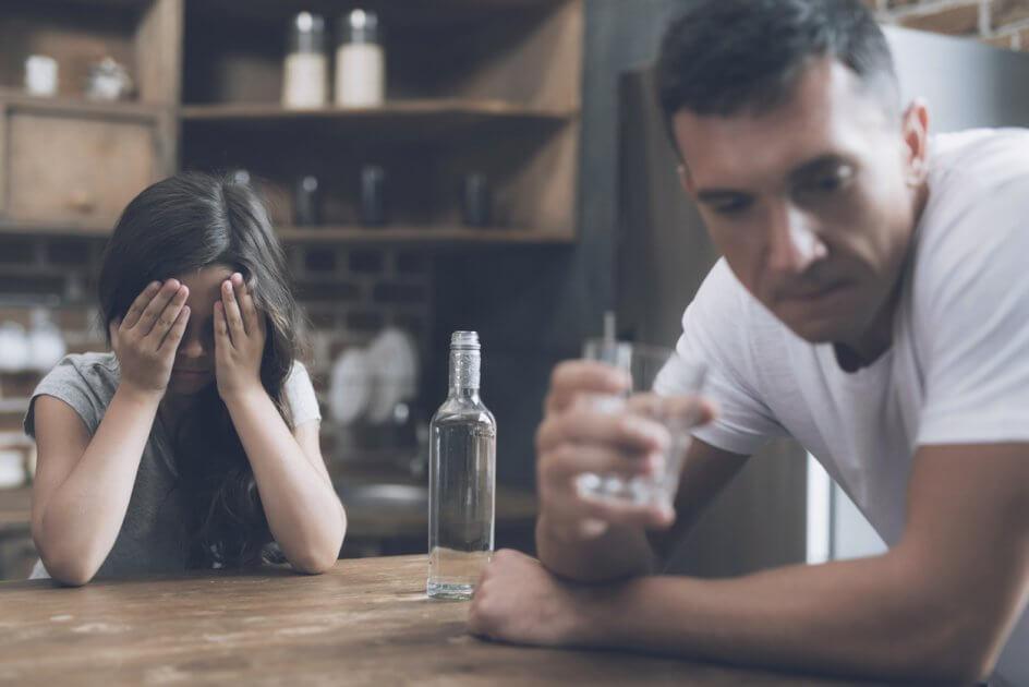 Появление третей стадии алкоголизма