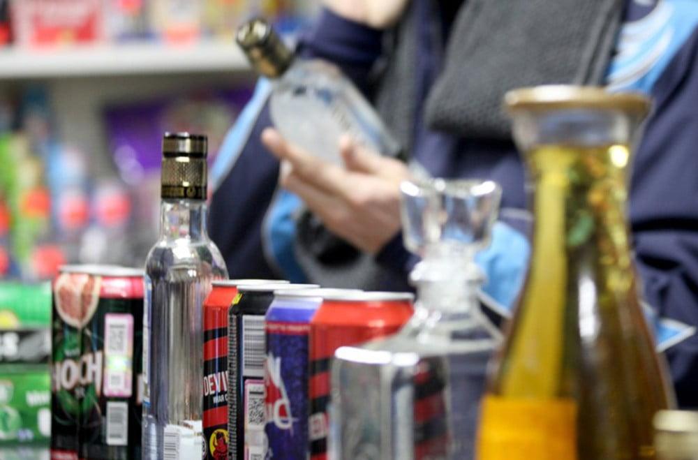 Продажа алкоголя пьяным