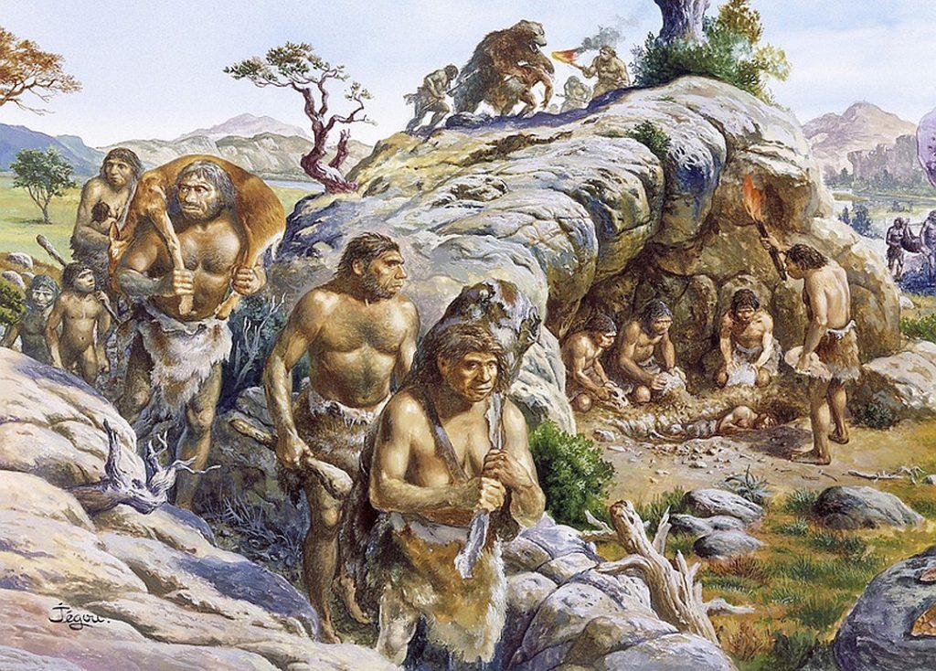 Неандертальцы и алкоголизм