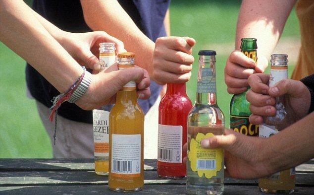 Опасность алкоголя для подростков