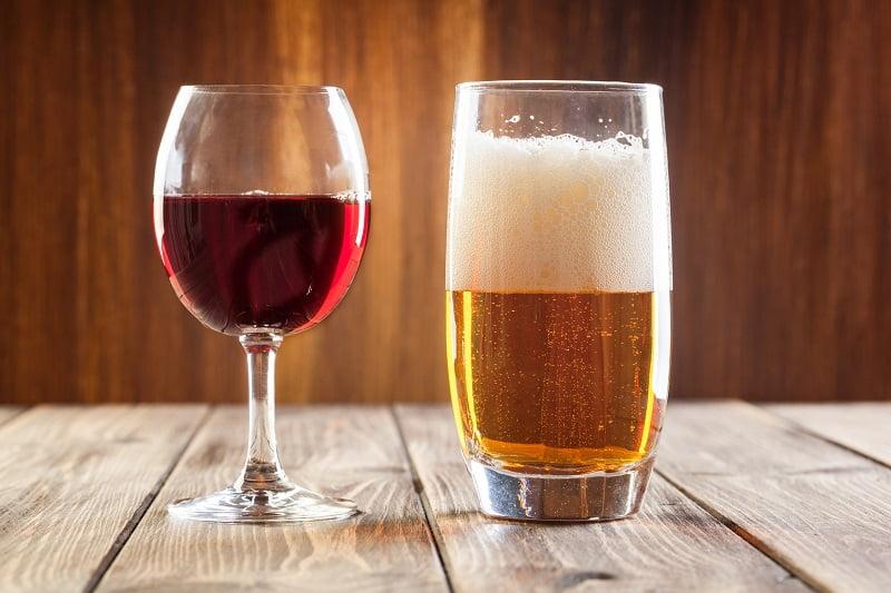 Опасность фильтрованного пива и вина